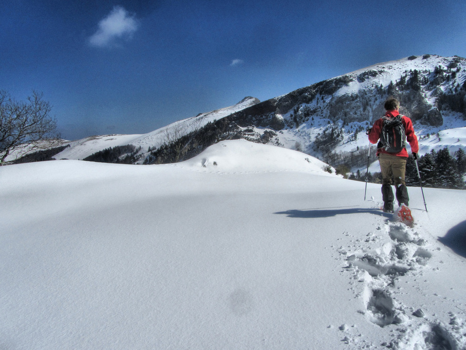 Guided Snowshoeing France